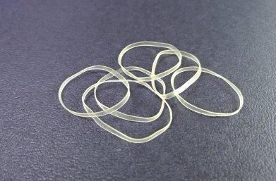 L02 Transparent TPU Rubber Bands