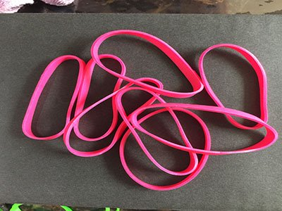 K04 Synthetic Rubber Bands