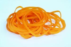 100% Natural Rubber Bands