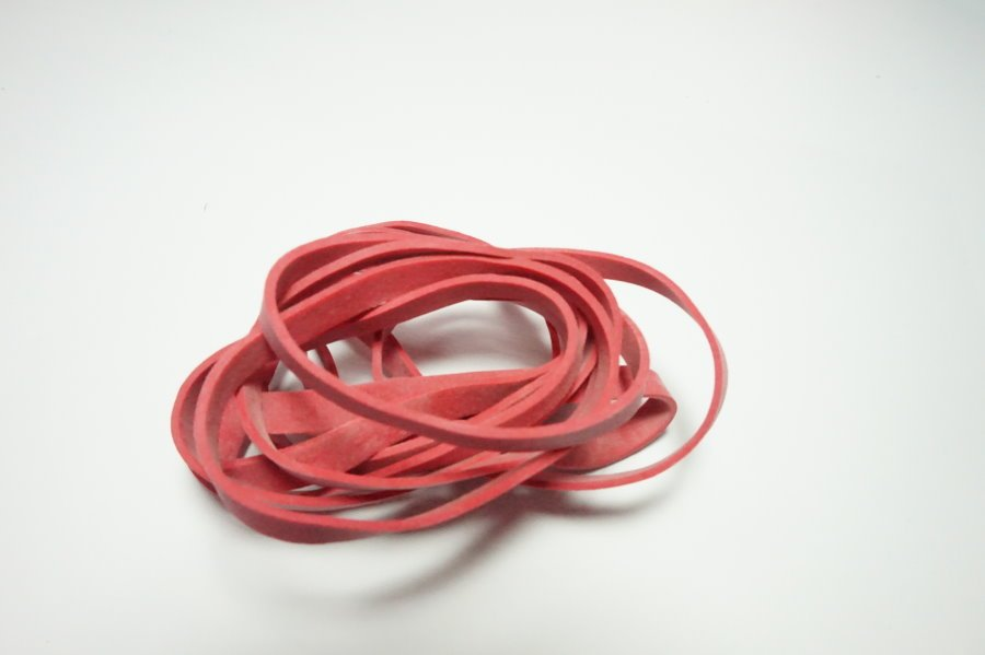 50% Natural Rubber Bands